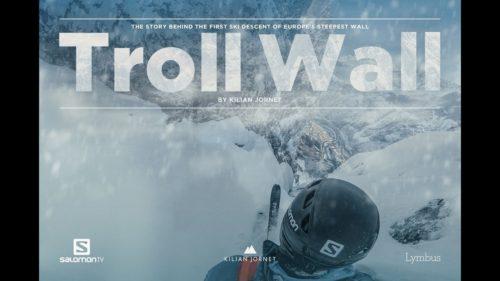 Kilian Jornet i ekstremalny zjazd na nartach Ścianą Trolli